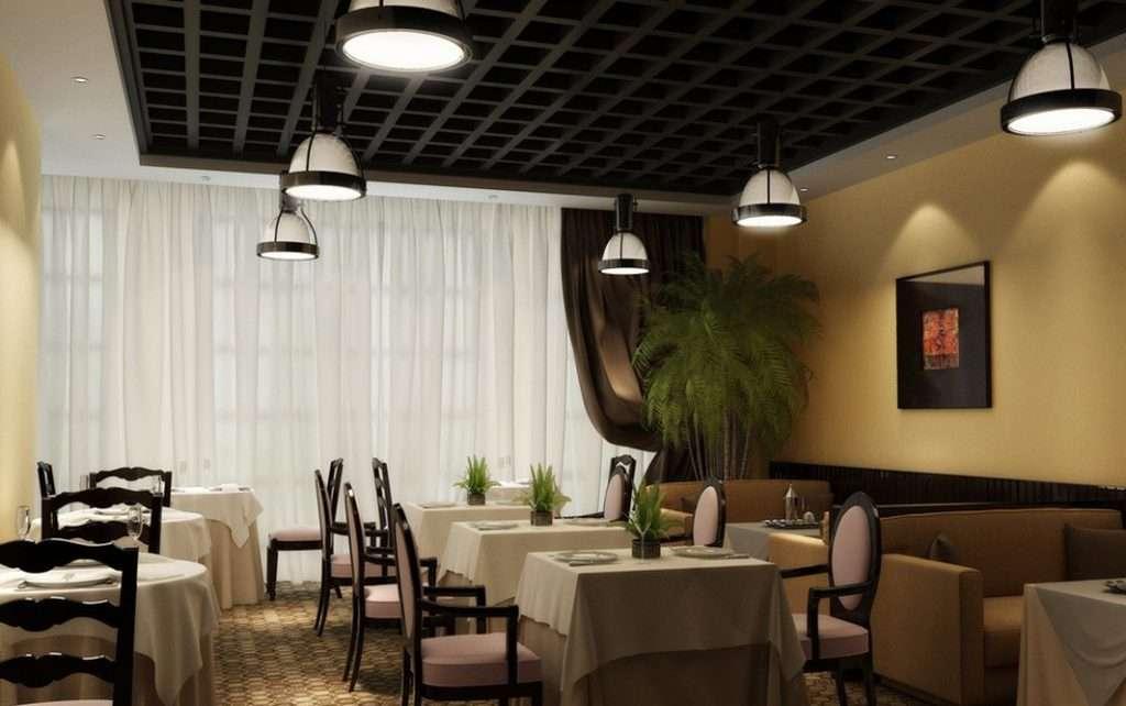 restaurante decoración sencilla